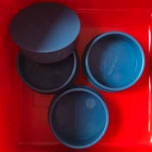 Deckel blau - Lid blue