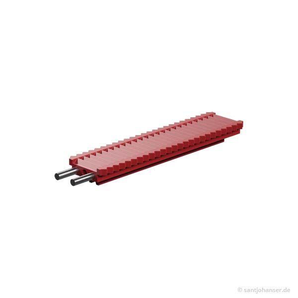 Zahnstange 60 m=0,5, rot