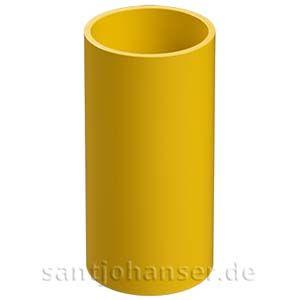 V-Rohrhülse 30x58, gelb