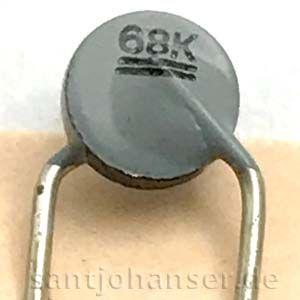 NTC-Widerstand 68kOhm - NTC resistor 68kΩ