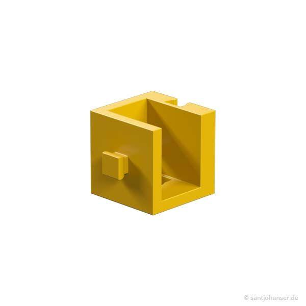 Winkelträger 15, gelb