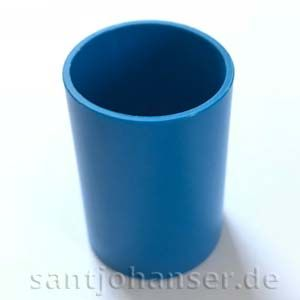Rohrhülse blau | Tubular sleeve blue