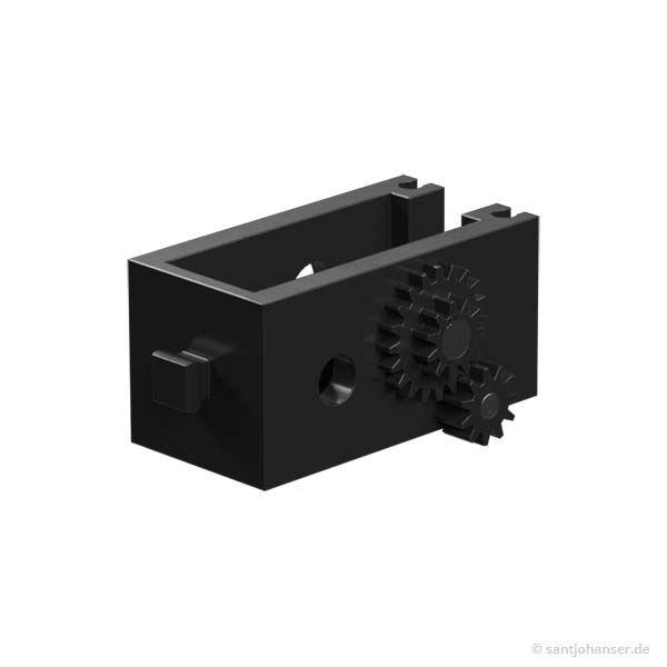U-Getriebe, schwarz