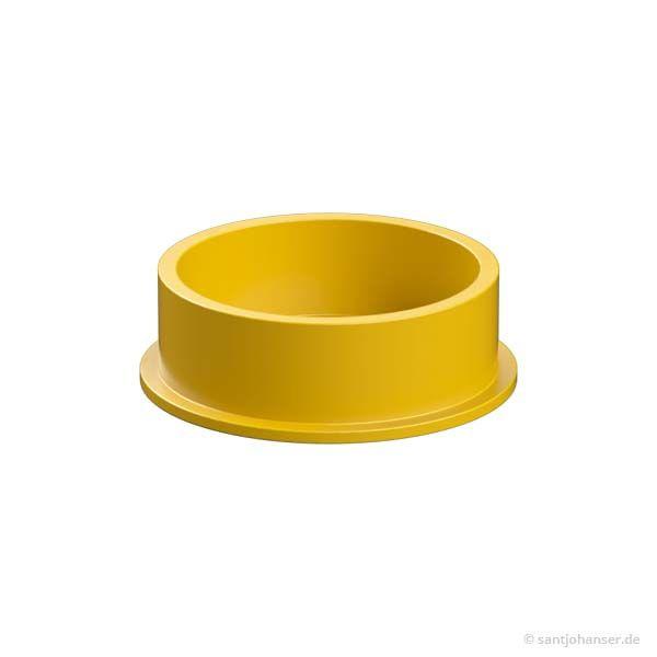 Deckel, gelb