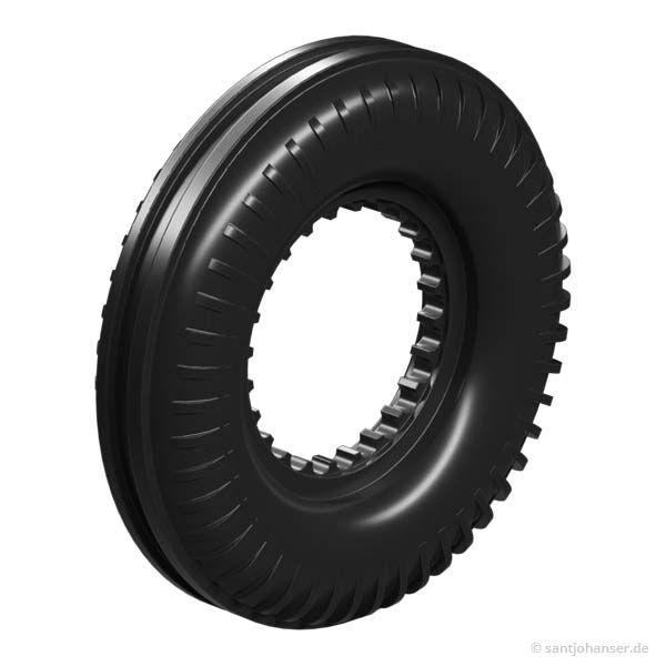 Reifen 45, schwarz