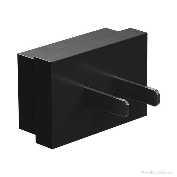 Wechselstecker HMP-UL (USA), schwarz