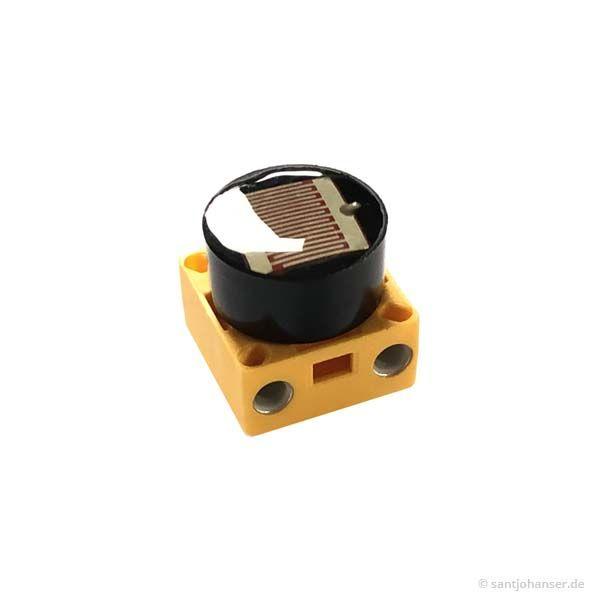 Fotowiderstand + Sockel grau - photoresistor