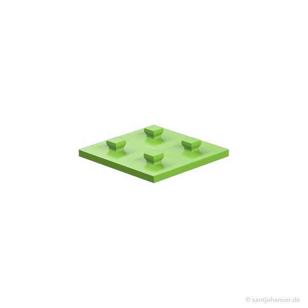 Bauplatte 30x30, grün