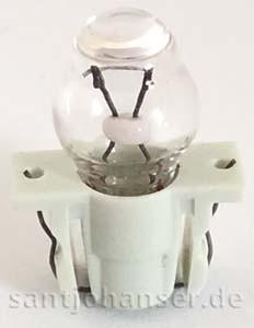 Linsenstecklampe 6 V - Lens bulb plug