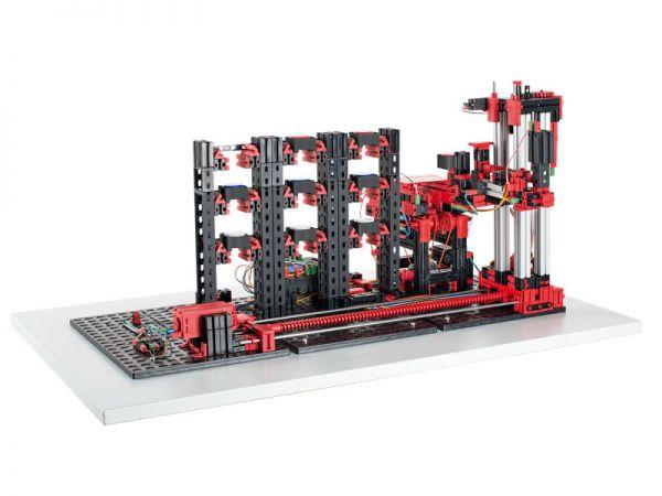 Automatisiertes Hochregallager 9V - Simulation