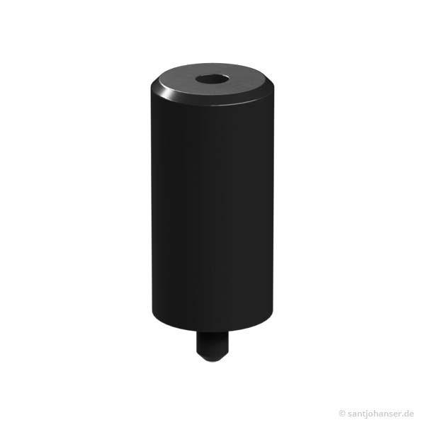 Zylinder, schwarz