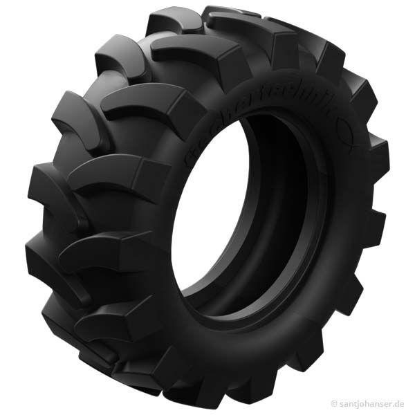 Traktorreifen 50, schwarz