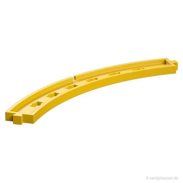 Bogenstück 60°, gelb