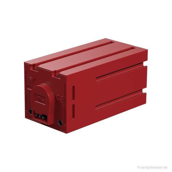 Encodermotor, rot