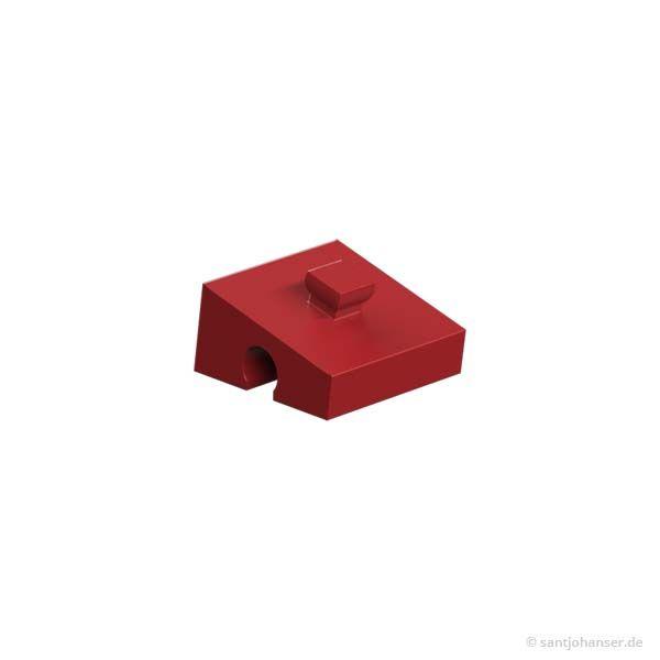 Winkelstein 15°, rot