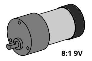 Power-Motor 8:1 9V