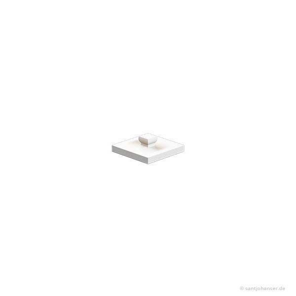 Bauplatte 15x15, weiß