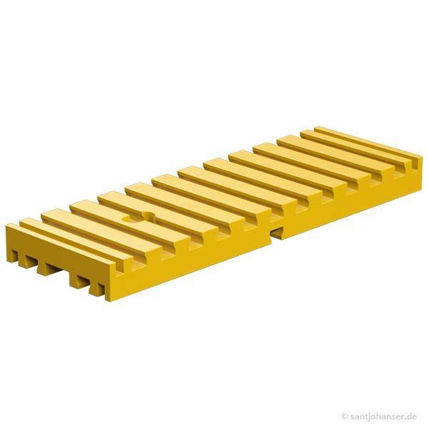 Bodenplatte 30x90, gelb