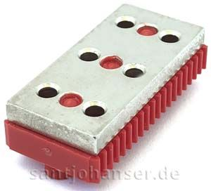 Verteilerplatte rot - Distributor plate red