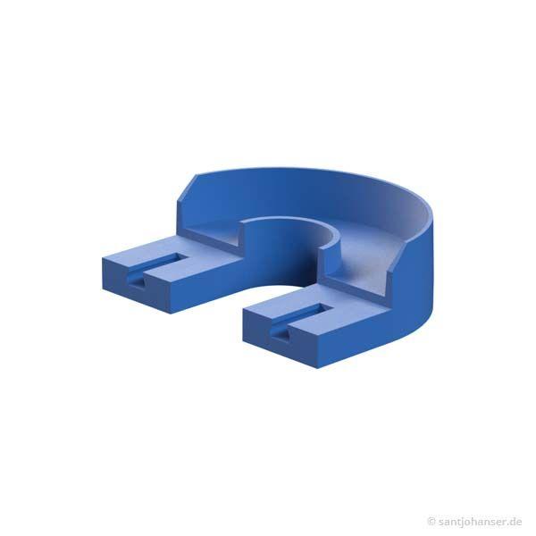 180° Kurve, blau