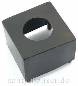 Störlichtkappe 8 mm, schwarz