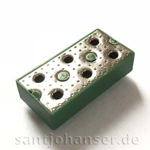 Verteilerplatte einpolig - Distributor plate single pole