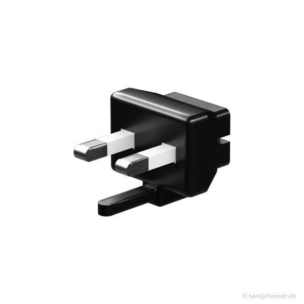 Wechselstecker HMP-AU (Aus), schwarz