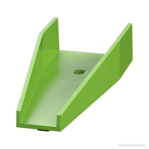 Wechselweiche Unterteil, grün