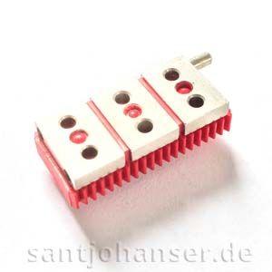 Verteilerplatte dreipolig - Distributor plate three pole