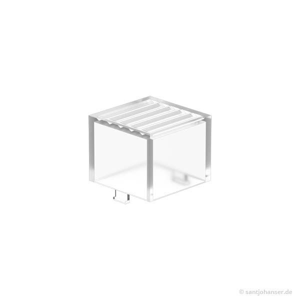 Rastleuchtkappe, transparent