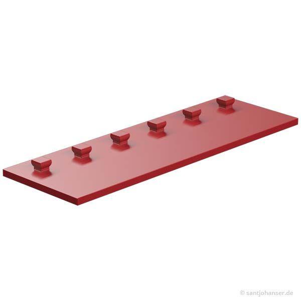 Bauplatte 30x90, rot