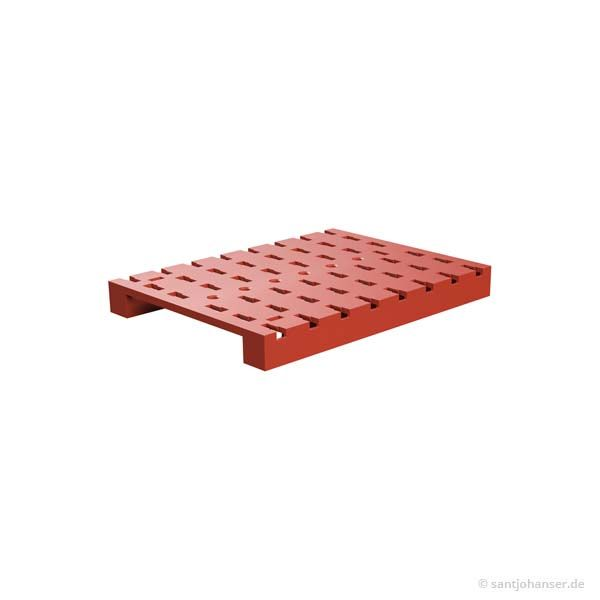 Grundplatte 120x90, rot