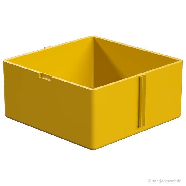 Kassetten-Unterteil, gelb