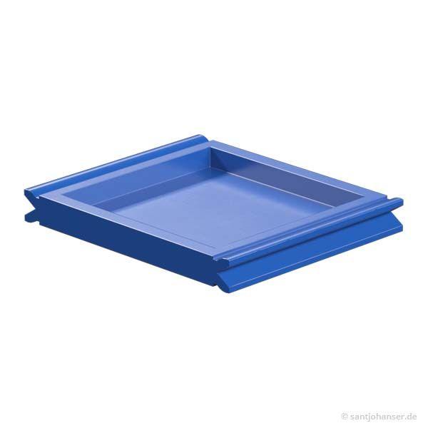Flachstein 30x30, blau