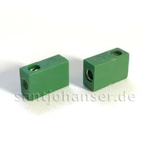 Flachbuchse grün
