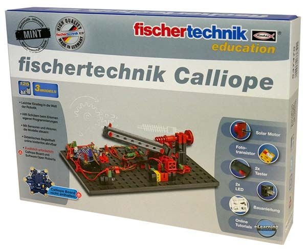 fischertechnik Calliope - Roboter Bausatz