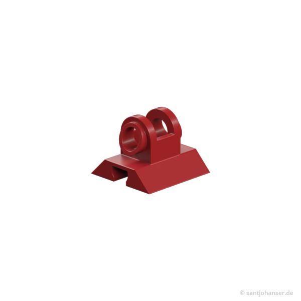Gelenkwürfel-Zunge, rot