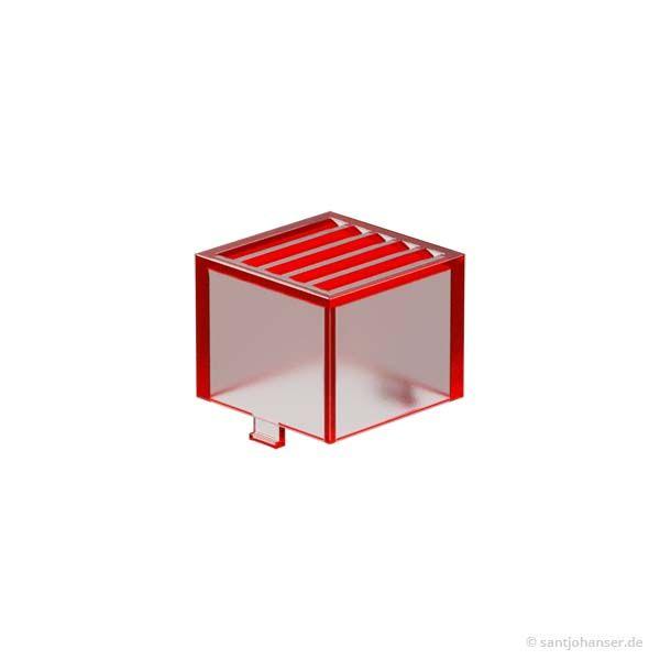 Rastleuchtkappe, rot