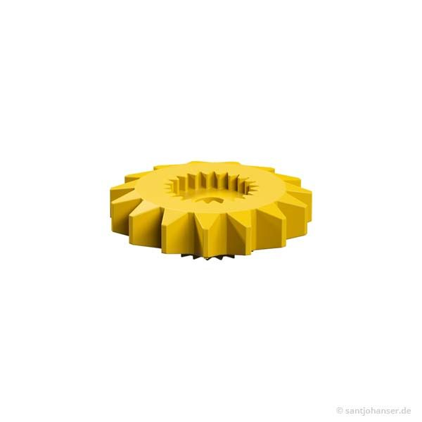 Zahnrad Z15 gelb