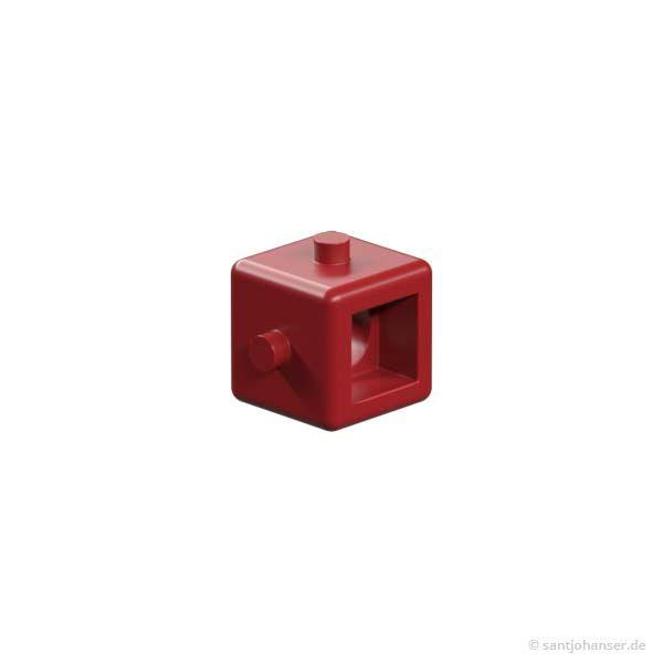 Getriebewürfel, rot
