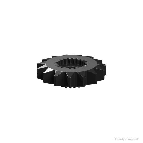 Zahnrad Z15, schwarz