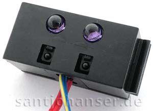 Robo IR-Spurensensor, 9V, schwarz