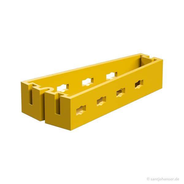 Winkelträger 7,5°, gelb