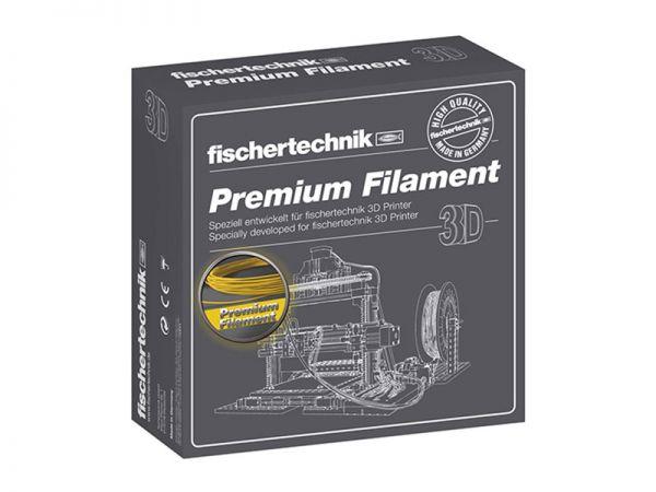 Premium Filament gelb 500g-Spule