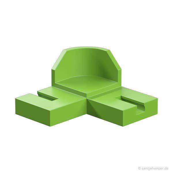 90° Kurve, grün