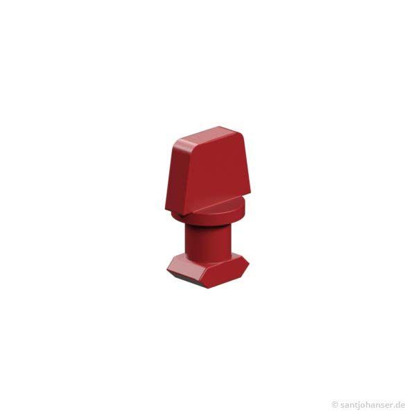 S-Riegel 4, rot