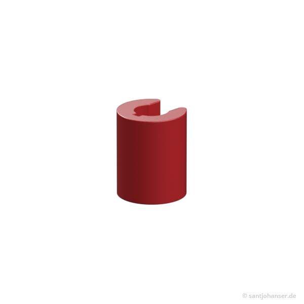 Klemmbuchse 10, rot