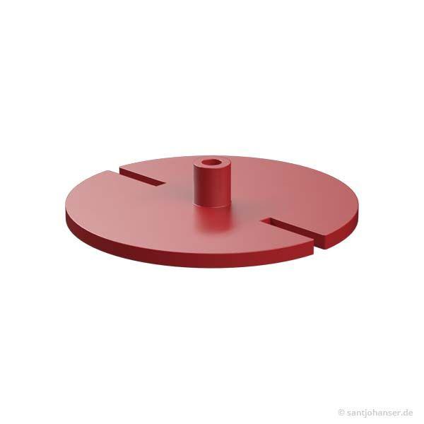 Aufliegerkupplung Oberteil, rot
