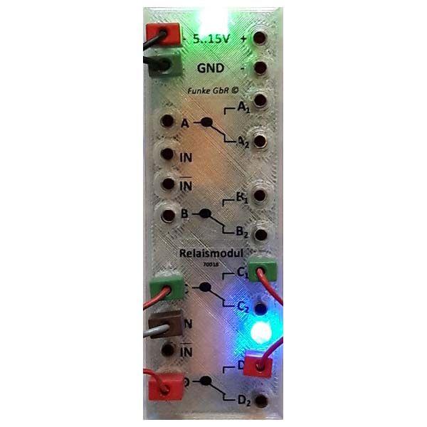 70018 Relais-Modul (30V 2A)
