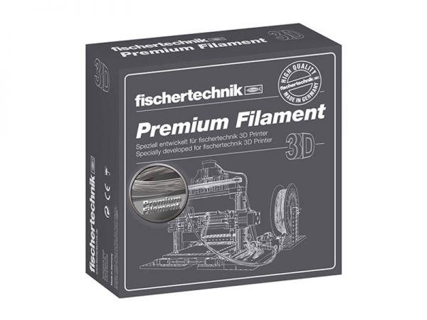 Premium Filament silber 500g-Spule